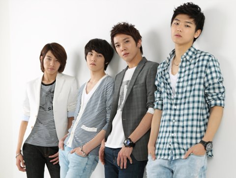 CN Blue Kpop Boy Band