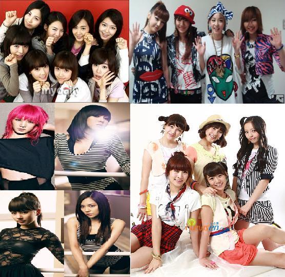 Girlband Korea Exit