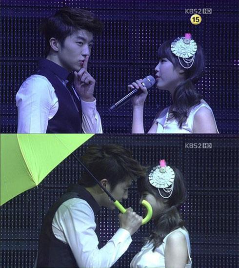Wooyoung dan IU dikabarkan berkencan diam-diam Iu And Wooyoung 2012