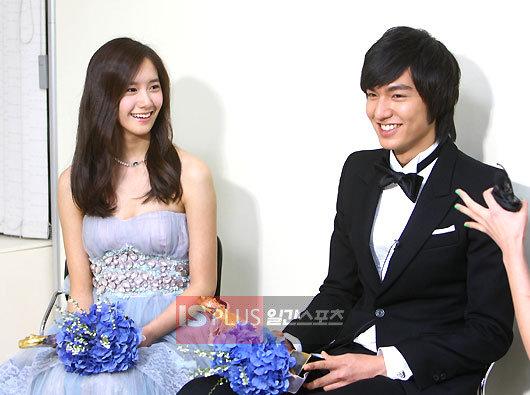 Pada 20 juli, aktor lee minho dan snsd's yoona diumumkan sebagai